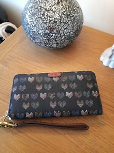 Fossil Lovehearts Purse BNWT RFID Protection