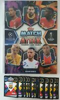 2020/21 Match Attax UEFA - 50 cards (no doubles) inc 10 shiny + FREE Folder