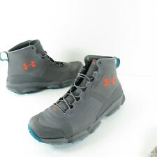 Under Armour Speedfit Mid Hiking Boots Grey Womens Size 11