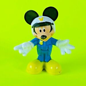 "Disney Mickey Mouse Clubhouse Police Officer Mickey 3"" Tall Action Figure Mattel"