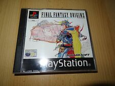 Final Fantasy Origins para Sony PlayStation 1 PS1 GB Versión BUEN