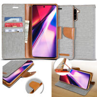 Shock Resistant Slim Flip leather wallet Case Cover for Samsung Galaxy Note 10 9