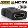 2X HDMI EXTENDER FEMALE TO FEMALE COUPLER ADAPTER JOINER CONNECTOR 1080P HDTV
