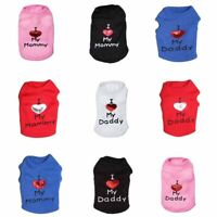 Small Medium Dog Clothes Pet Puppy Costume Dog Cat Apparel Vest Colors XXS-L