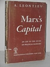Marx's Capital: An Aid to the Study of Political Economy 1st 1946 pb
