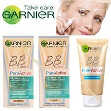 Nuevo Garnier BB Crema Pura activo 5 en 1 Anti Imperfecciones 50ml luz o medio