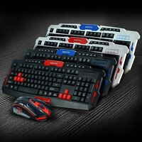 Cool Design 2.4G 1000/1600 DPI Wireless Gaming Keyboard + Mouse Combo Set