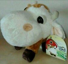 Peluche mucca big headz amici della fattoria pupazzo nuovo caw plush soft toys