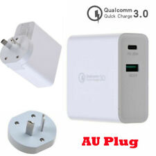 30W USB Type-C USB-C QC3.0 PD Mobile Phone Fast Charging Wall Charger Adapter AK