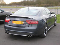 For Audi A5 Coupe Rear trunk spoiler Sport style Rear Boot Lip Spoiler wing trim
