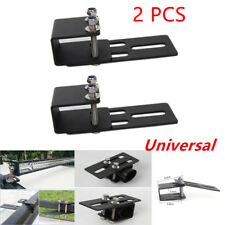 Pair Car Roof Rack Light Bracket Bumper Mount Holder Kit for LED Work Light Bar