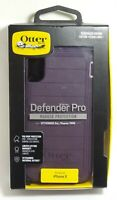 OtterBox Defender Series Rugged Case & Clip Holster iPhone Xs/X, Purple Nebula