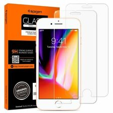 2x Spigen Iphone 7 or 8 Glass Screen Protector Cover Protective Tempered
