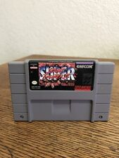 Snes Super Nintendo Super Street Fighter II