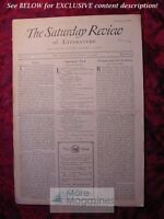 SATURDAY REVIEW March 13 1926 Lee Wilson Dodd Cameron Rogers Roderick Random