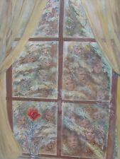 El árbol de abeto enumerados Acuarela Artista Joseph Otto Aplanador Inglaterra Envío Gratuito