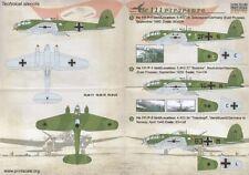 Imprimé échelle 1/72 Heinkel He 111P-1, il 111P-2, il 111P-4 & il 111P-6 # 72163