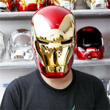 Iron Man MK85 Cosplay 1:1 ABS LED Touch Open/Close Helmet Adult Wear Halloween