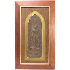 Thai Buddhist Votive Plaque Sukhothai style Ayutthaya Period