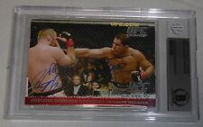 Antonio Rodrigo Nogueira Heath Herring Signed Ufc 2009 Topps Round 1 Card Bas Rc