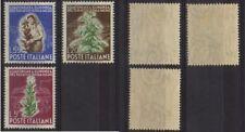 ITALY 1950 Tabac conferece Rome Mint *  Sc.544-546 (Sa.629/631)