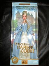 Princess of the Danish Court Barbie 2002  Dolls of the World