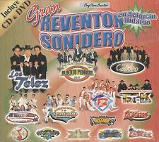 LOS TELEZ ALBERTO PEDRAZA GRUPO QUASARES GRAN REVENTON SONIDERO CD+DVD SEALED