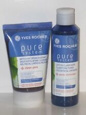 PURE SYSTEM SET X 2 ( DAILY EXFOLIATING CLEANSER 4.2 oz+ TONER 5 oz) NEW !