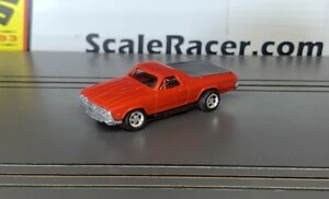 Fire Orange 1969 Chevy El Camino  Body(ONLY) for Aurora Tjet type chassis
