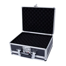 Double Sided Pistol Handgun Gun Case Combination Lock Security Hard Carry Case