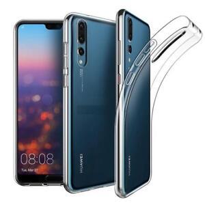 Para Huawei P30 Pro P20 Ligero P8 Lite Honor 9 Psmart Antichoque Claro Funda Gel