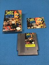 Zombie Nation (Nintendo Entertainment System, 1991) With Manual