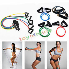 Yoga Resistance Bands Elastic String Sliming Fitness Exercise Latex Tube Workout