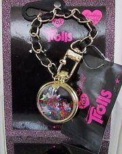 Betsey Johnson Trolls Handbag Bag Dangle Charm Globe Rainbow Confetti Beads NWT