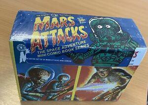 Mars Attacks: The Space Adventure Mini Comic Book Series. Box 2. Unopened Box.