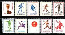ALBANIA Sc 910-19 NH ISSUE OF 1966 - SOCCER WORLD CUP
