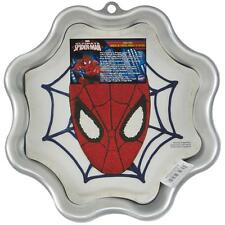 "Wilton Novelty Cake Pan ~ Spider-Man 11""x11""x2""  ~ W2105CP 5072~ Brand New"