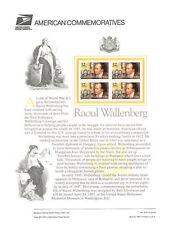 #510 32c Raoul Wallenberg #3135 USPS Commemorative Stamp Panel