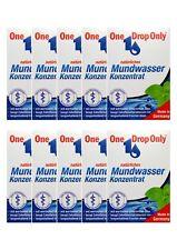 10x ONE DROP Only natürl. Mundwasser Konzentrat 10 ml PZN 3277794 Reisegröße