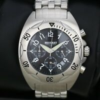 Mens Watch BEUCHAT Tikehau Steel with Black Dial Chronograph 40mm Divers Watch