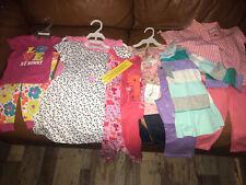 Children's Place Carters New Nwt Girls 12-18 Months 11 Piece Lot Dress Pj Sets