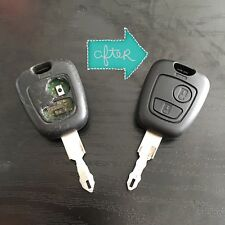 REPAIR SERVICE - CITROEN REMOTE KEY FOB SAXO XSARA BERLINGO PICASSO REFURB
