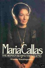 Maria Callas -  The Woman Behind the Legend - HC w/DJ 1981