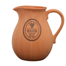 Porto Pitcher Natural Terracotta 2 Litre Milk Water Coffee Retro Serving Jug