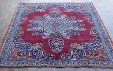 Persian Traditional Vintage Wool 275cmX183cm Oriental Rug Handmade Carpet Rugs