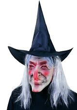 Ciao 30093 Latex Mask Witch Doctor Fabric with Hat and Wig, Assorted