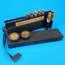 Vintage Oil Company Salesman's Case Complete with Samples RED GIANT OIL CO.
