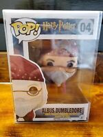 Funko Pop! Harry Potter # 04 Albus Dumbledore. W/ POP PROTECTOR