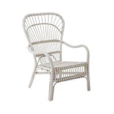 Havana Relax Chair, Rattan, White