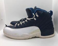 low priced 3c4b7 5dc1d Nike Air Jordan 12 XII Retro Obsidian French Univ Blue Sz 11 130690-410